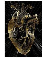 Art Gold Heart Cardiologist 11x17 Poster front