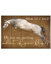 Horse Girl My Darling What if You Fly 17x11 Poster front