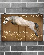 Horse Girl My Darling What if You Fly 17x11 Poster poster-landscape-17x11-lifestyle-18
