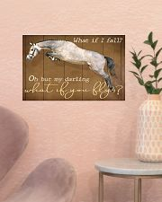 Horse Girl My Darling What if You Fly 17x11 Poster poster-landscape-17x11-lifestyle-22