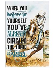 Horse Girl You've Already Circled The Third Barrel 11x17 Poster front