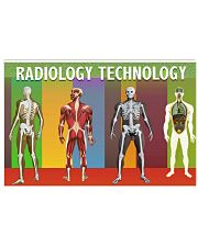 Radiology Technology 17x11 Poster front