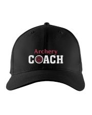 Archery Coach Gift Embroidered Hat front