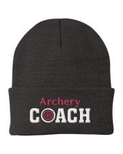 Archery Coach Gift Knit Beanie thumbnail