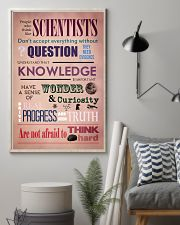 Science People Who Think Like Scientists 11x17 Poster lifestyle-poster-1