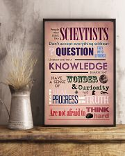Science People Who Think Like Scientists 11x17 Poster lifestyle-poster-3