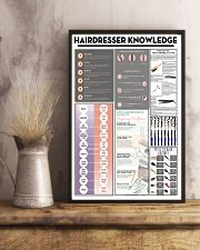 Hairdresser Knowledge 11x17 Poster lifestyle-poster-3