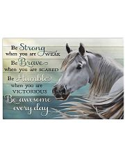 Horse Girl Be Awesome Everyday 17x11 Poster front