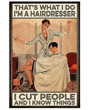 Hairdresser I Know Things 11x17 Poster front
