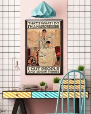 Hairdresser I Know Things 11x17 Poster lifestyle-poster-6