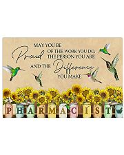 Pharmacist May You Be Proud Of The Work You Do 17x11 Poster front