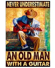 Guitar An Old Man 11x17 Poster front