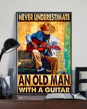 Guitar An Old Man 11x17 Poster lifestyle-poster-2