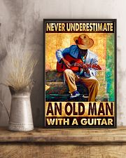 Guitar An Old Man 11x17 Poster lifestyle-poster-3