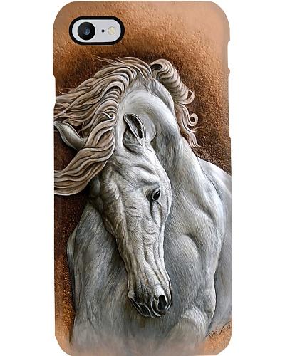 Horse Girl White Horse