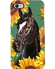 Horse girl - Sunflower Phone Case i-phone-7-case