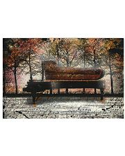Pianist PIano in the forest Poster 17x11 Poster front