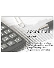 Accountant Definition 17x11 Poster front