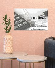 Accountant Definition 17x11 Poster poster-landscape-17x11-lifestyle-21