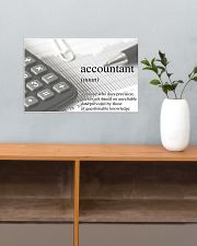 Accountant Definition 17x11 Poster poster-landscape-17x11-lifestyle-24