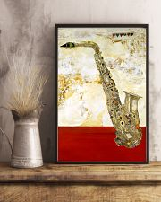 Saxophone Vintage Red Line 11x17 Poster lifestyle-poster-3