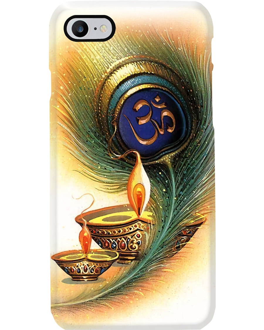 Yoga Icon With Candle Phone Case