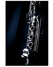 Clarinet Music Instrument  11x17 Poster front