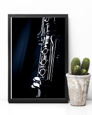 Clarinet Music Instrument  11x17 Poster lifestyle-poster-8