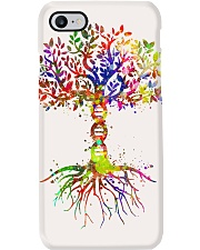 Science DNA Tree Poster Phone Case thumbnail
