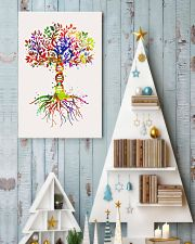 Science DNA Tree Poster 11x17 Poster lifestyle-holiday-poster-2