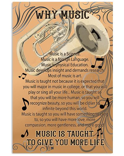 Tubist Why music poster