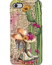 Horse Girl Cactus Phone Case i-phone-7-case