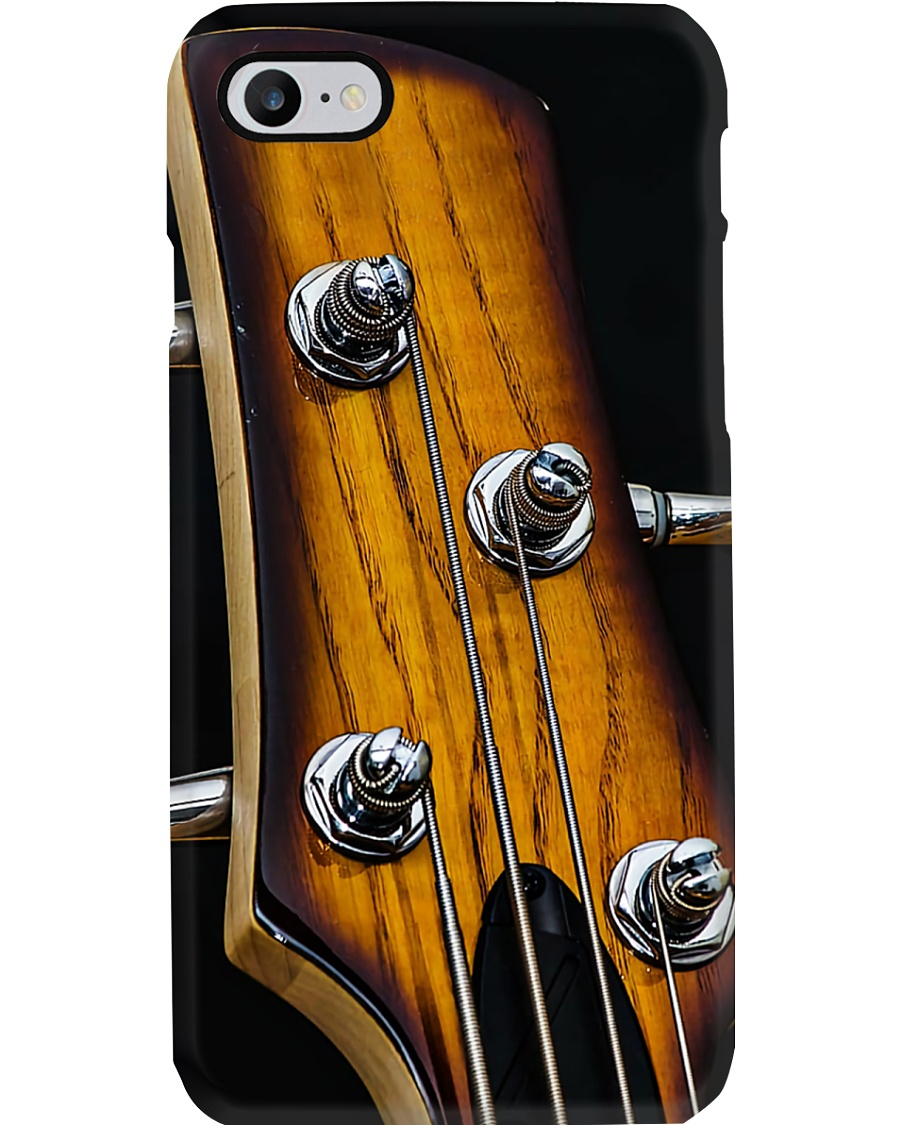 Bass Guitar Art Head Phone Case