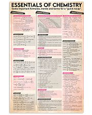Chemist Essentials Of Chemistry 11x17 Poster front