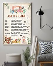 Quilter's Code Sewing 11x17 Poster lifestyle-poster-1