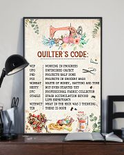 Quilter's Code Sewing 11x17 Poster lifestyle-poster-2