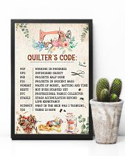 Quilter's Code Sewing 11x17 Poster lifestyle-poster-8