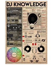 DJ Knowledge 11x17 Poster front