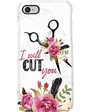 Hairstylist I will Cut You Phone Case i-phone-7-case