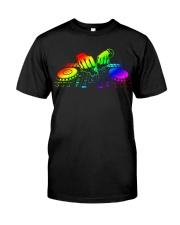 DJ Color Hand Classic T-Shirt front