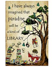 Librarian I have always imagined Poster 11x17 Poster front
