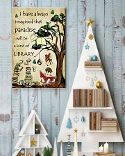 Librarian I have always imagined Poster 11x17 Poster lifestyle-holiday-poster-2