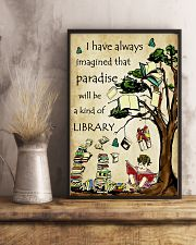 Librarian I have always imagined Poster 11x17 Poster lifestyle-poster-3
