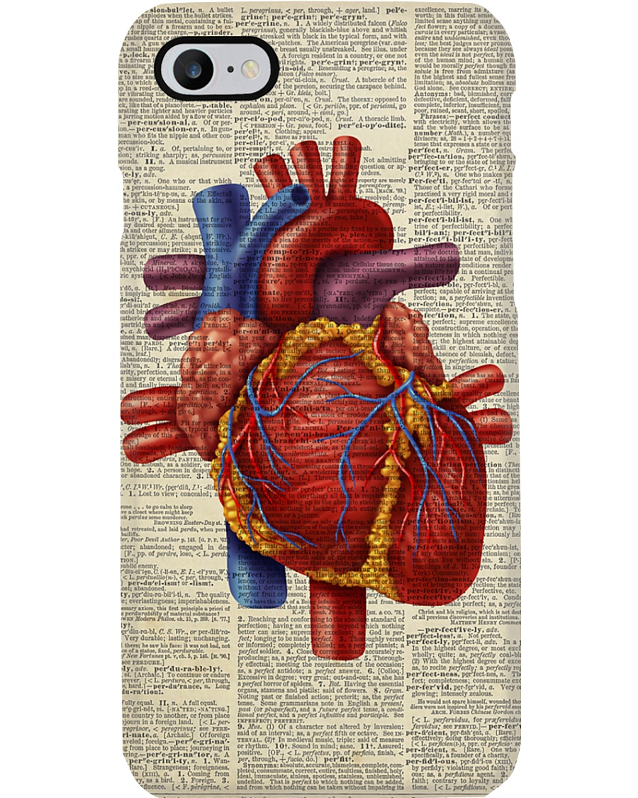 Paramedic Heart Anatomy Phone Case
