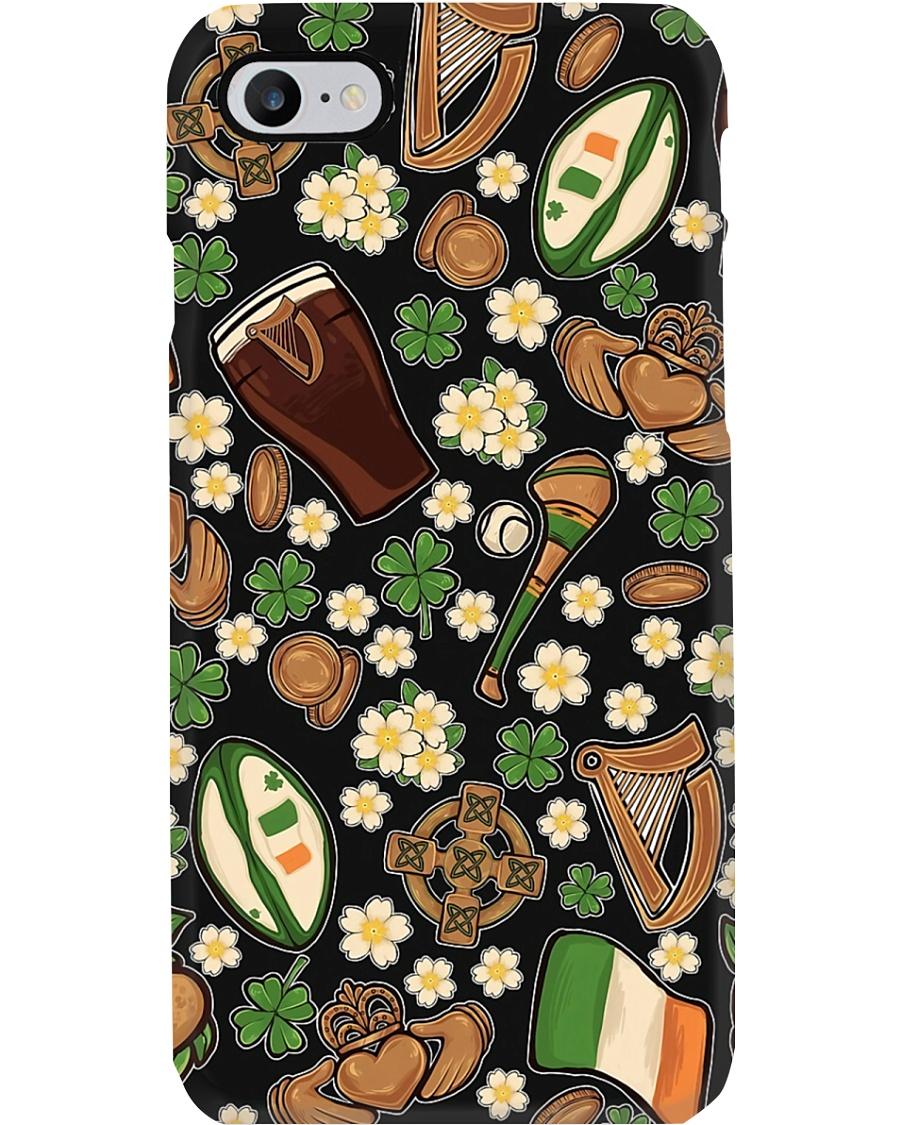 Irish Harp Patterns  Phone Case