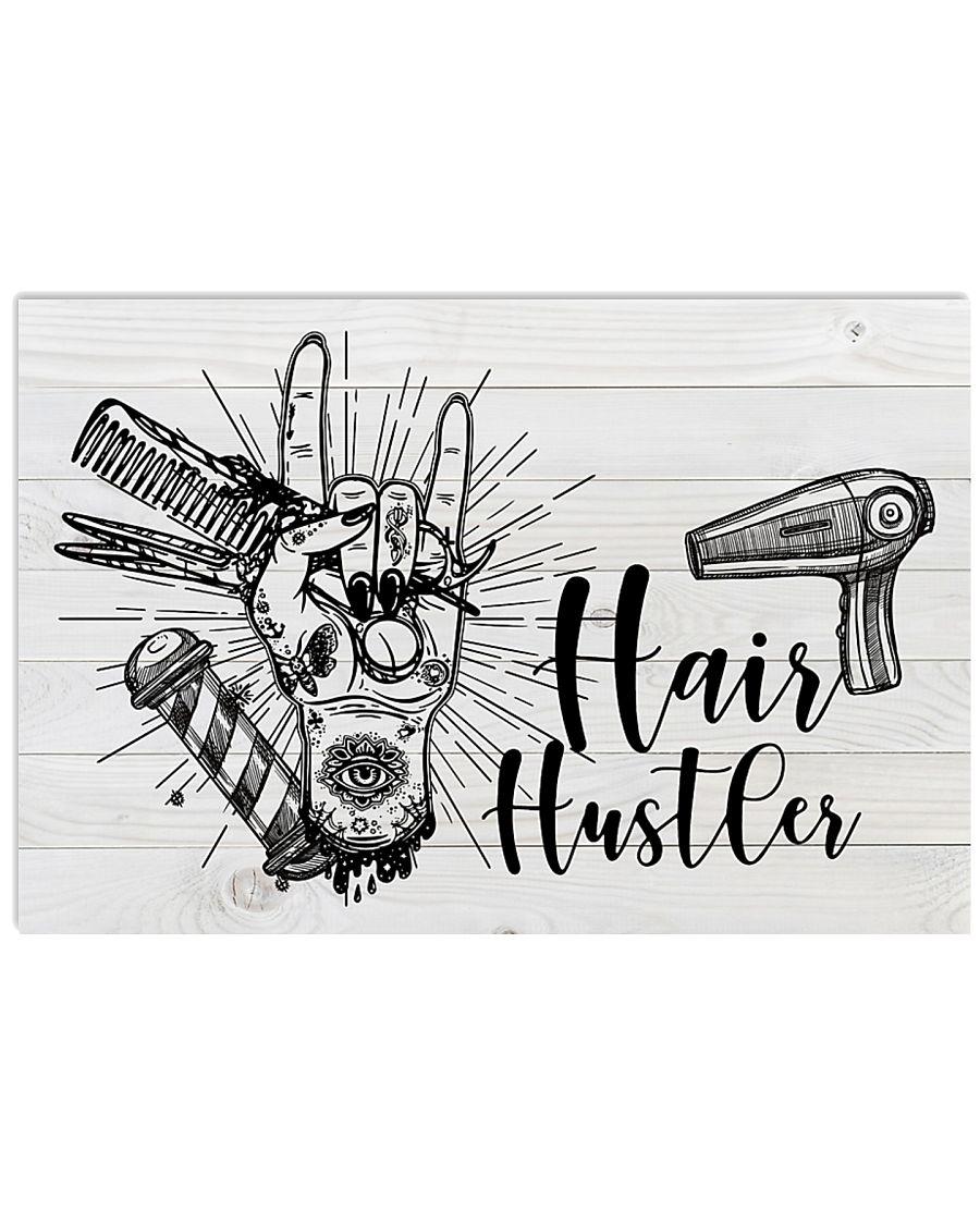 Hairdresser Hair Hustler 17x11 Poster