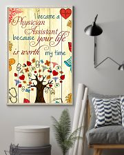 Physician Assistant Your Life Is Worth My Time 11x17 Poster lifestyle-poster-1