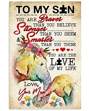 Autism You Are The Love Of My Life 11x17 Poster front