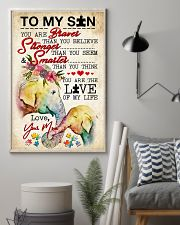 Autism You Are The Love Of My Life 11x17 Poster lifestyle-poster-1