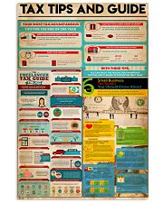 Accountant - Tax Tips And Guide 11x17 Poster front